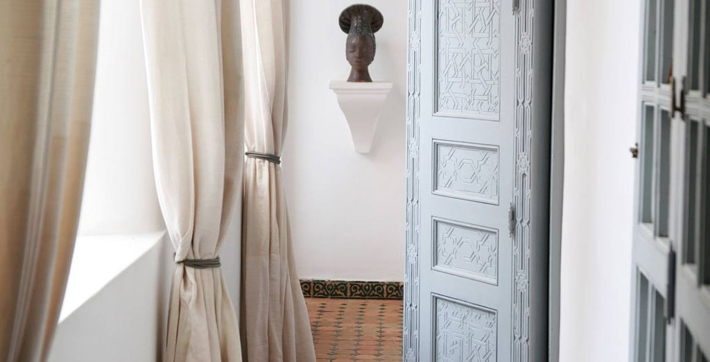 Maravíllate con la decoración marroquí...