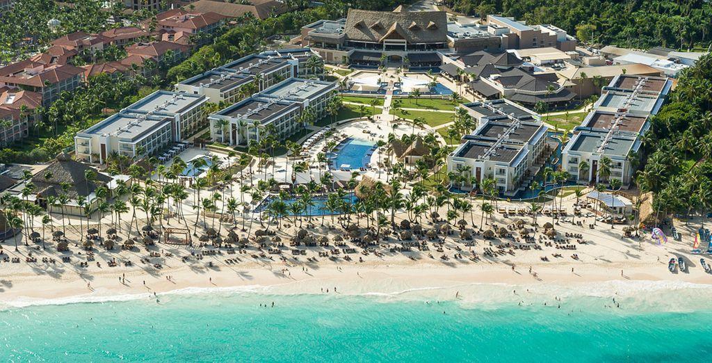 Royalton Punta Cana Resort & Casino - All Inclusive Beach Resort te da la bienvenida