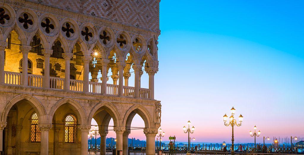 El Palacio Ducal, edificio de belleza cautivadora...