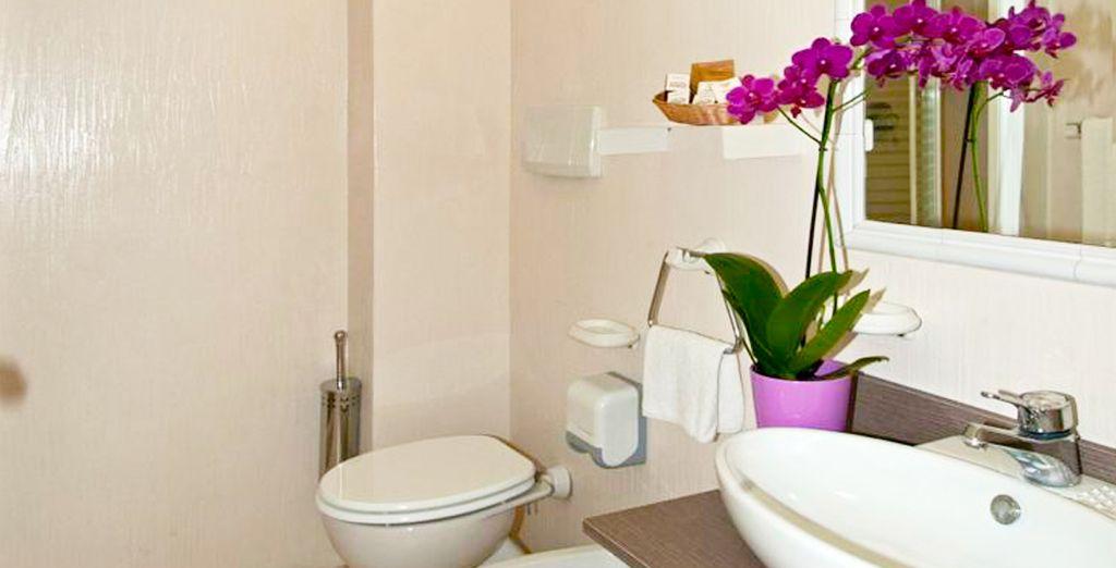 Baños equipados con todo lo que necesitas
