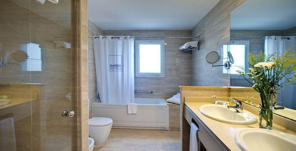Con baño privado con todo lo que necesitas