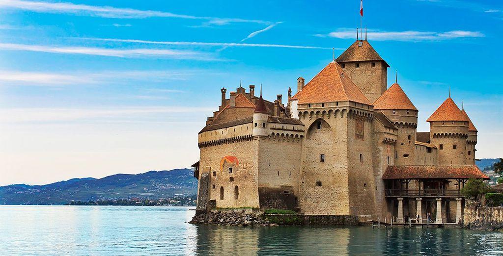 Aprovecha para visitar el Castillo de Chillon, gracias al 50% de descuento en la entrada con Riviera Card