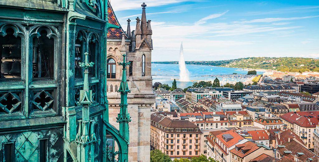 Visita la ciudad de Ginebra
