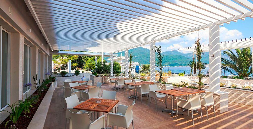 Uno de los hoteles más modernos y mejor equipados en la costa de Montenegro