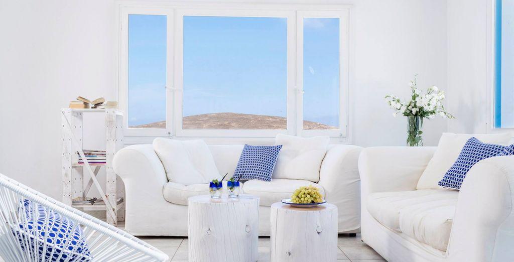 Grandeza y amplitud, refleja los aspectos principales de decoración griega