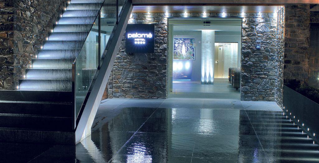 Un encantador hotel miembro de Relais du Silence con interiores de diseño