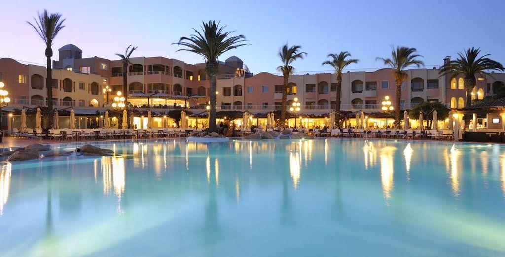 Un hotel con gran número de servicios e instalaciones