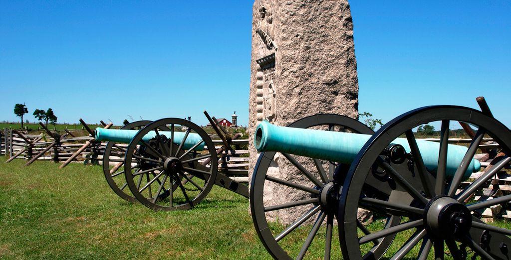 En Gettysburg tuvo lugar, en julio de 1863, la más importante batalla de la Guerra Civil americana