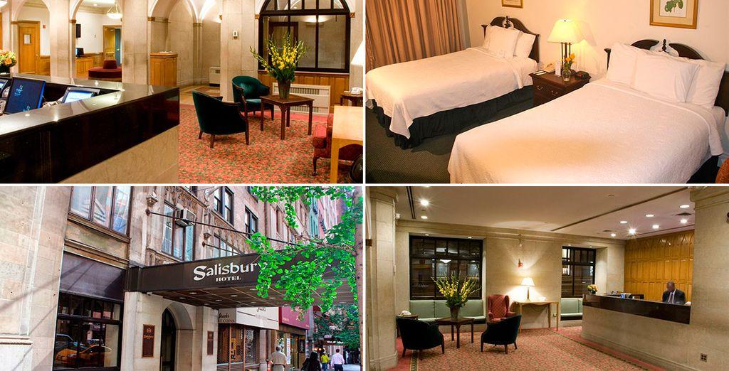 El último hotel de esta itinerario: Salisbury Hotel 3*