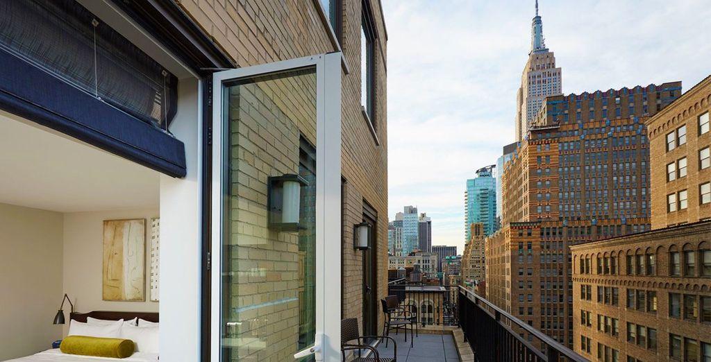 Siéntete parte de Manhattan desde el Marmara Park Avenue 5*
