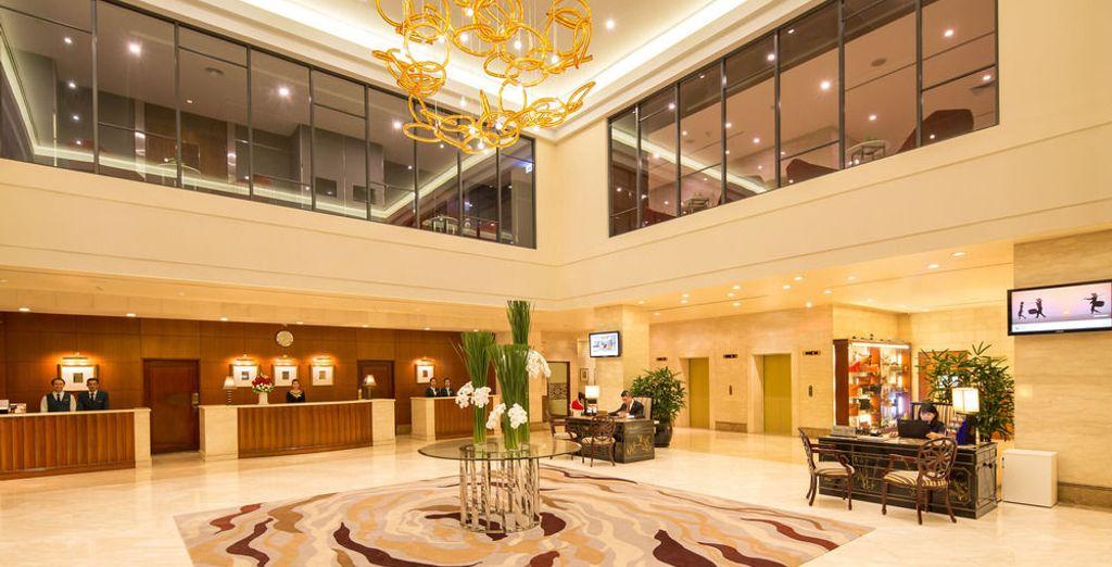 O en el Saigon Prince Hotel 4*