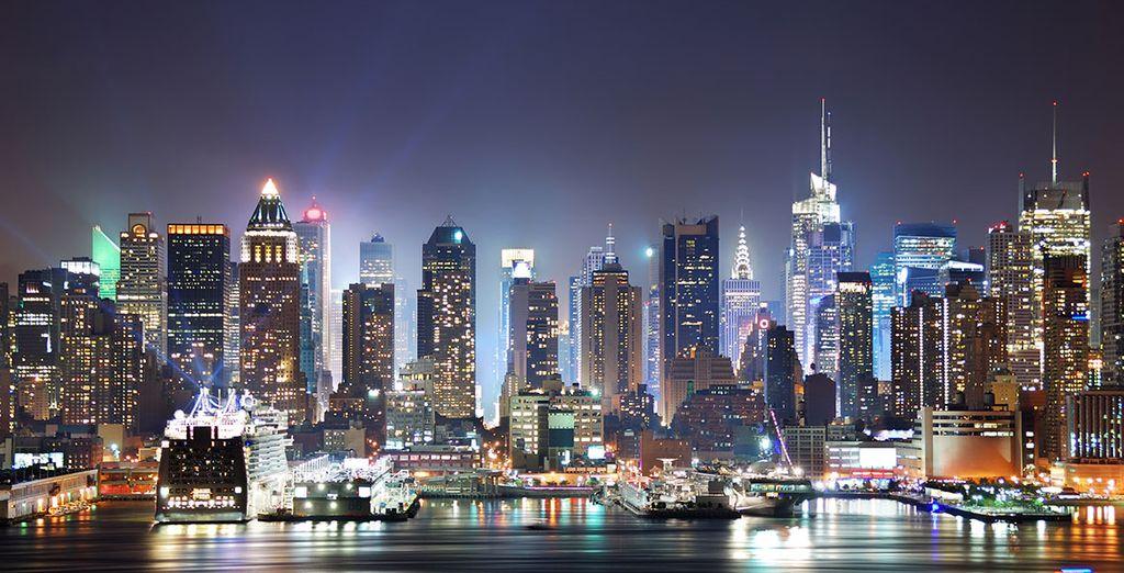 Vive la ciudad de noche y de día
