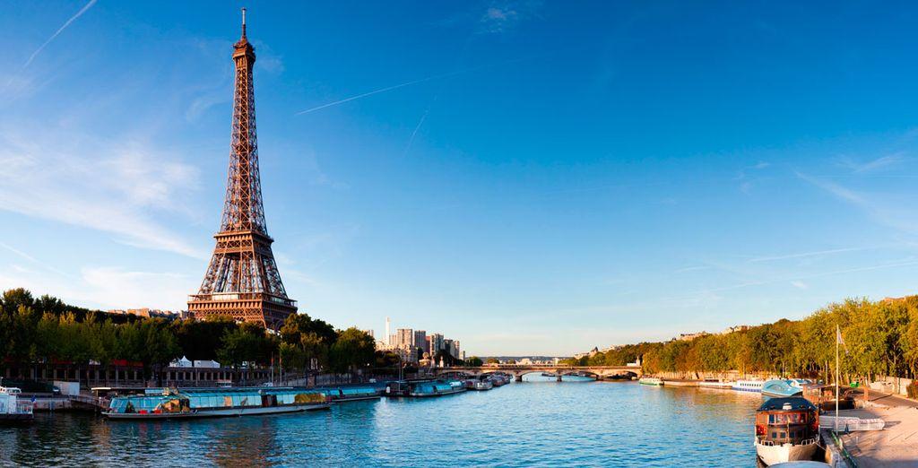 Sube al cielo, a la bella Torre Eiffel