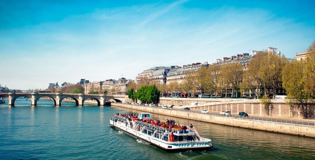 Regálate un paseo por el Sena
