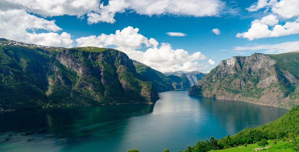 Fiordo de los sueños, el orgullo de Noruega con 204km de largo