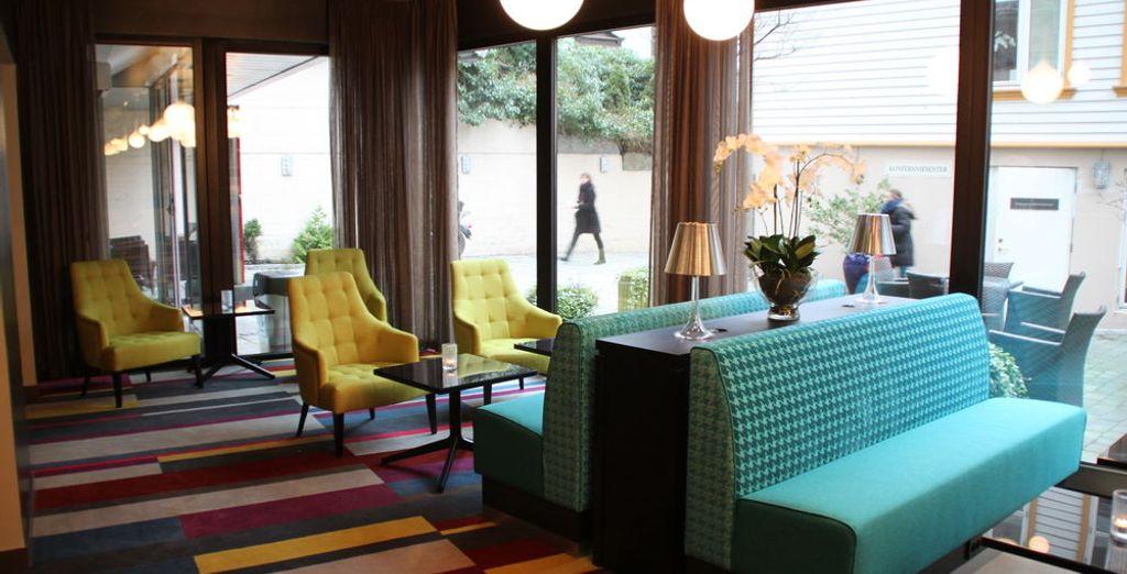 En Stavanger te alojarás 2 noches en el Thon Hotel Maritim 4*