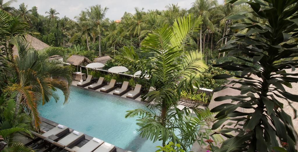... te alojarás en el The Ubud Village Hotel 4*