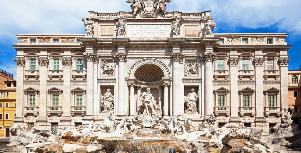 Pide un deseo en la Fontana di Trevi