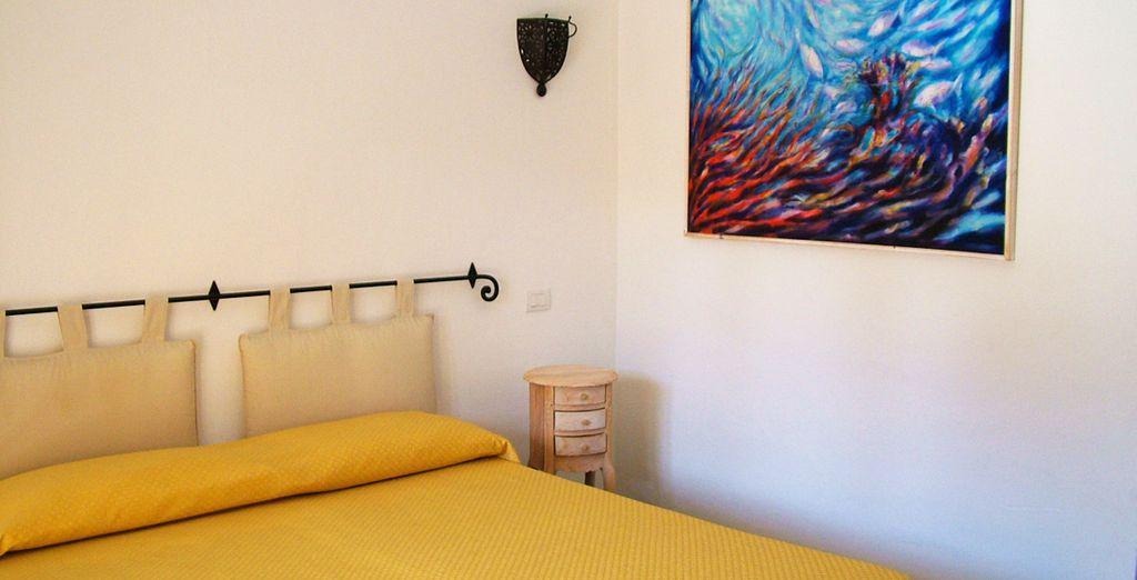 Te presentamos tu habitación con balcón privado