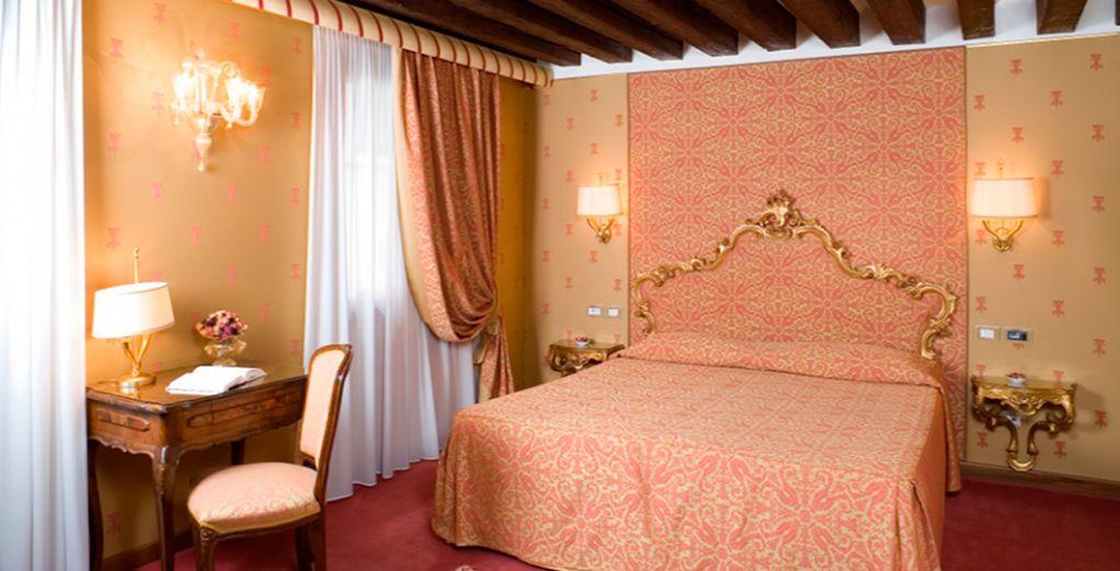 ... o podrás elegir una fantástica habitación Estándar