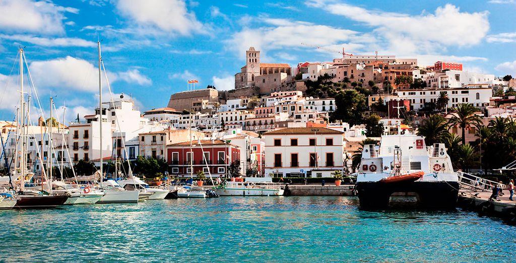 Una isla hermosa...