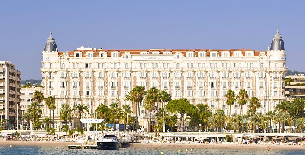 Bienvenido al Intercontinental Carlton Cannes 5*