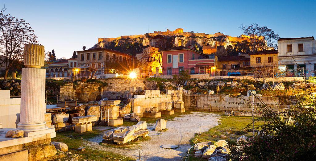 Resgesarás a Atenas para poder seguir recorriendo la ciudad