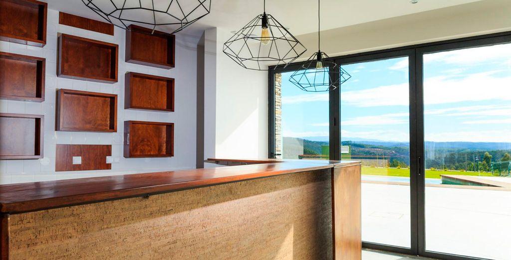 Un hotel situado en un entorno natural con perfecta armonía y respeto por la naturaleza
