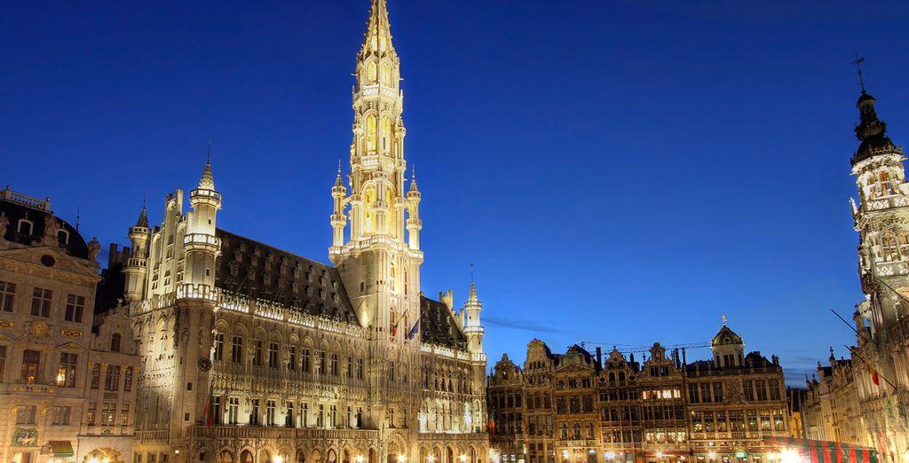 La Grand Place te cautivará por su belleza ¡Prepara las maletas!