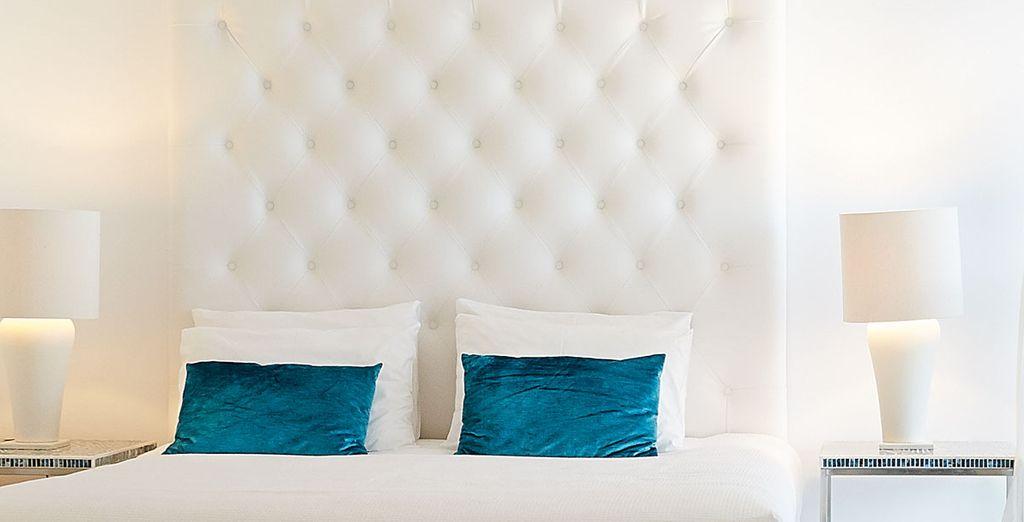 Descansarás en una habitación Doble con vistas al jardín
