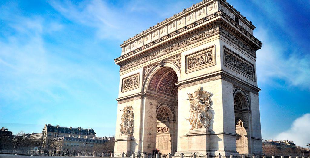 Descubre los grandes monumentos de la capital francesa