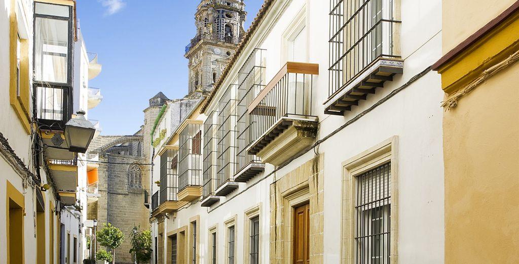 Jerez de la frontera representa a la perfección la Andalucía más actual y dinámica