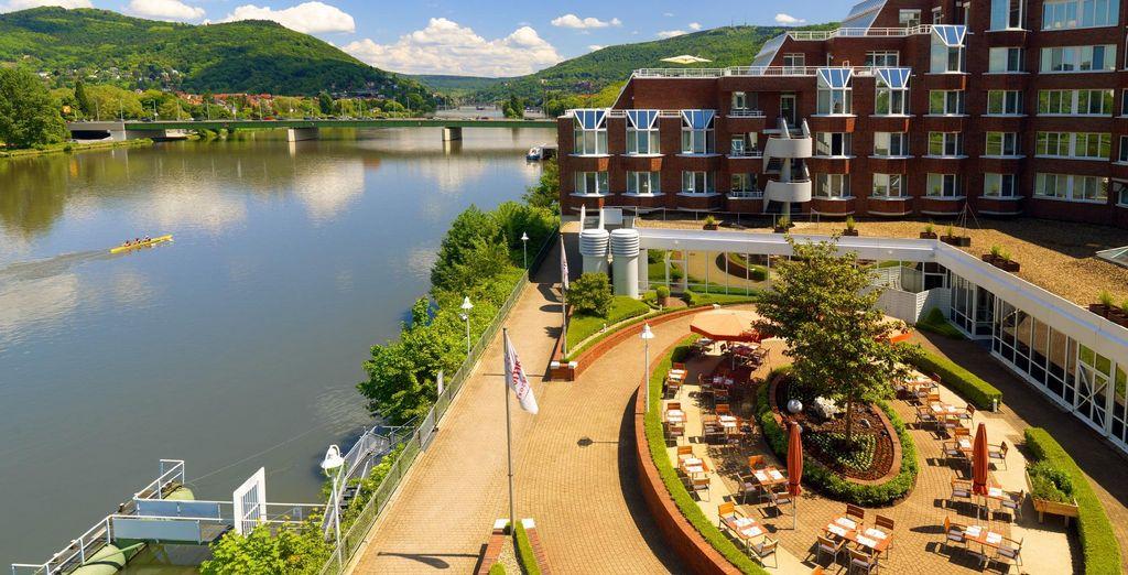 En Heidelberg disfruta de una estancia en el Marriott Heidelberg 4*