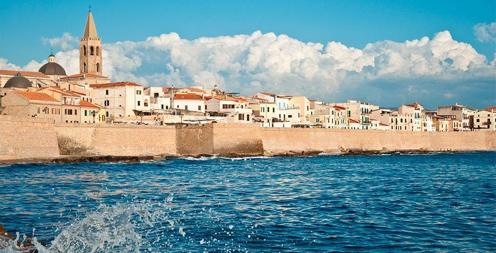Maravíllate con los pintorescos paisajes de Alghero
