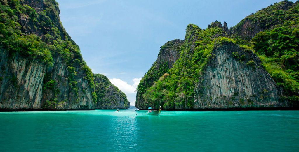 Bienvenido a la paradisíaca Tailandia