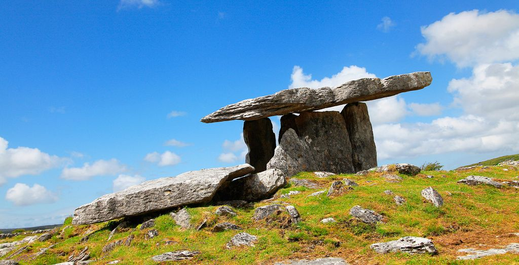 En el Parque Nacional de Burren encontrarás paisajes protegidos por la Unesco