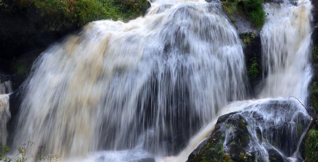 En Tribergar se encuentran las maravillosas Cataratas