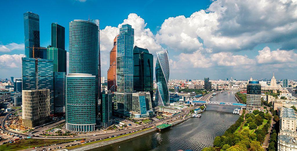 Moscú, una ciudad tradicional a la par que moderna