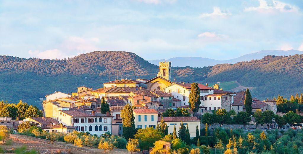 El pueblo Radda in Chianti, un lugar sorprendente en el que te espera el Agriturismo Borgo Castelvecchi