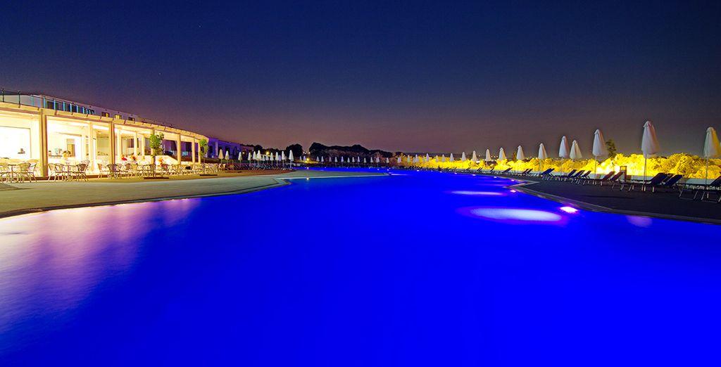 Una inmensa piscina para refrescarte