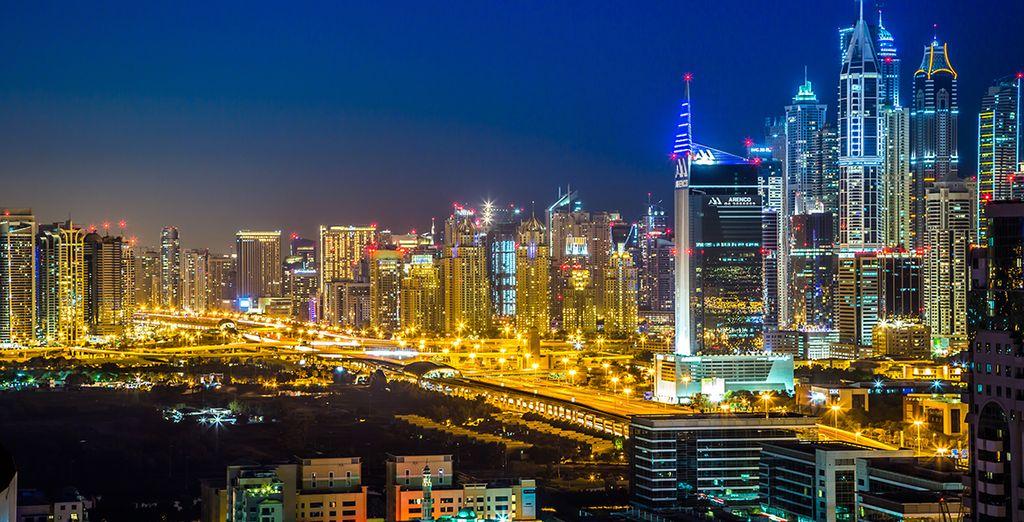 Dubái impresiona y late con fuerza