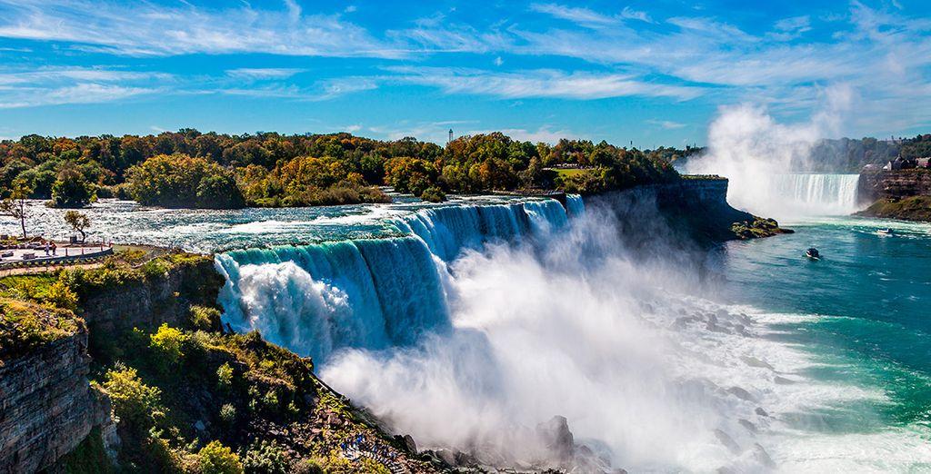 Las cataratas del Niágara, una maravilla de la naturaleza para tus sentidos