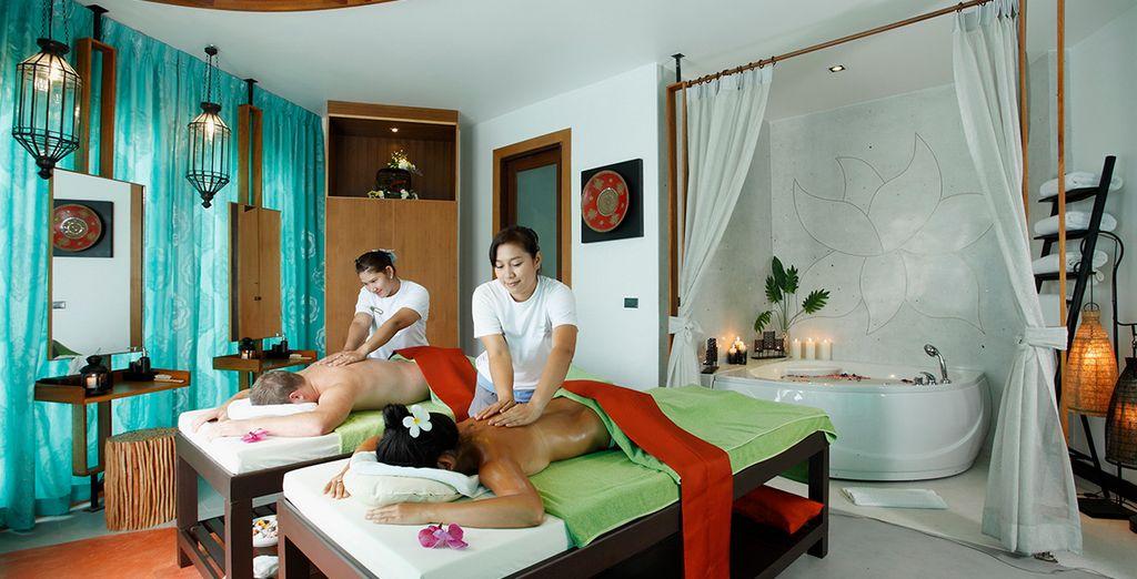 Y relájate con un masaje tailandés