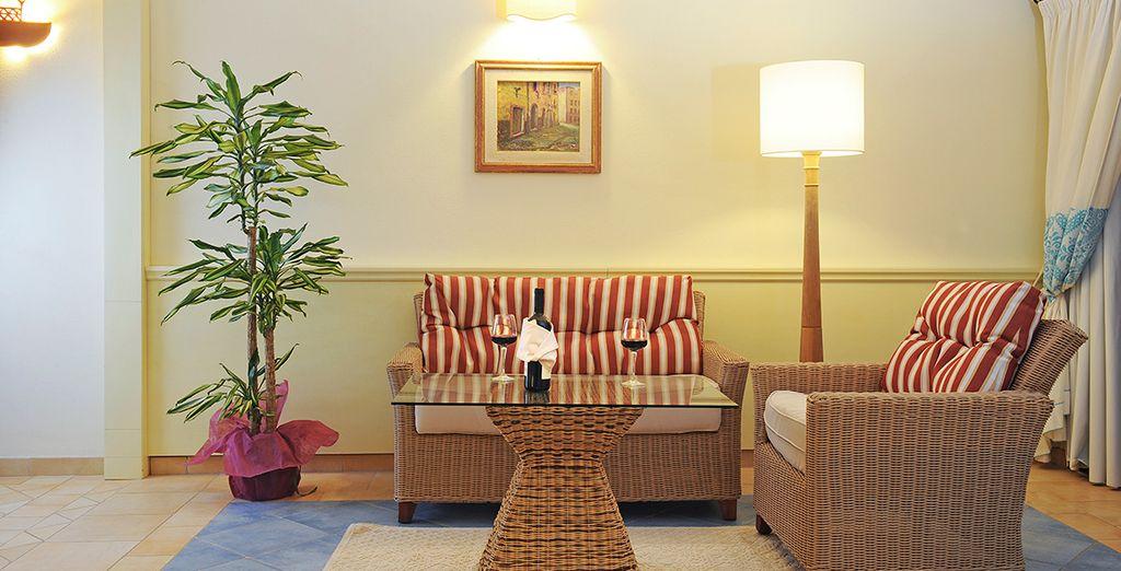 El hotel ofrece a sus huéspedes confort y servicios de alto nivel