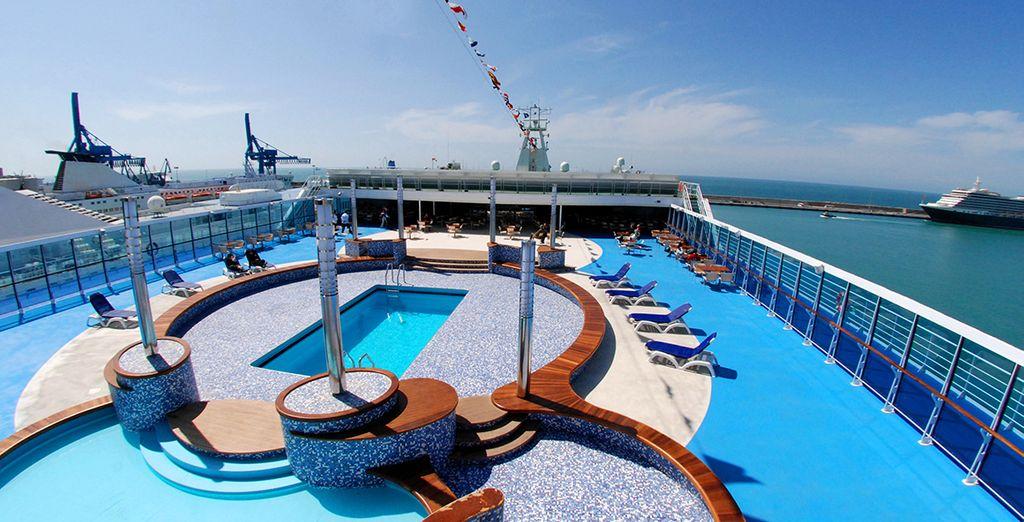 Los barcos son de nueva generación, rápidos y confortables