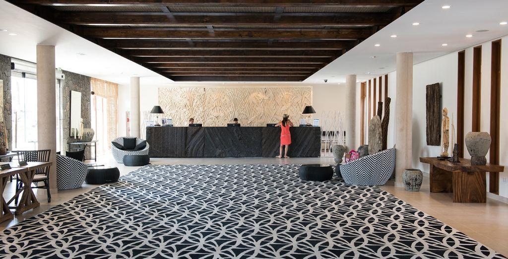 Modernos y espaciosos interiores