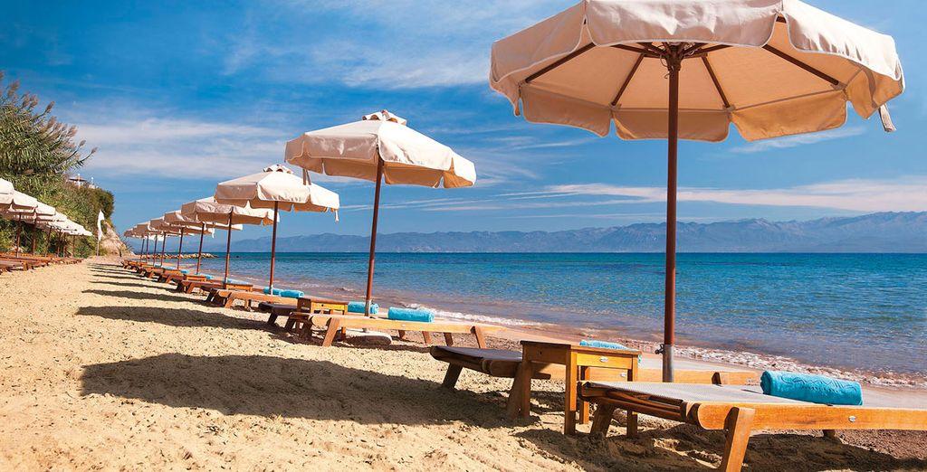 Un lujoso hotel a un paso de la playa