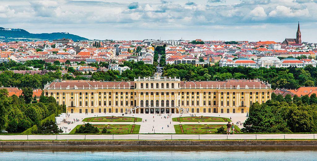 Tu primer destino, la capital austriaca, te enamorará