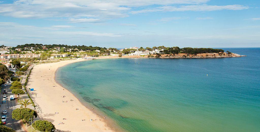 Disfruta de la playa de S'Agaró