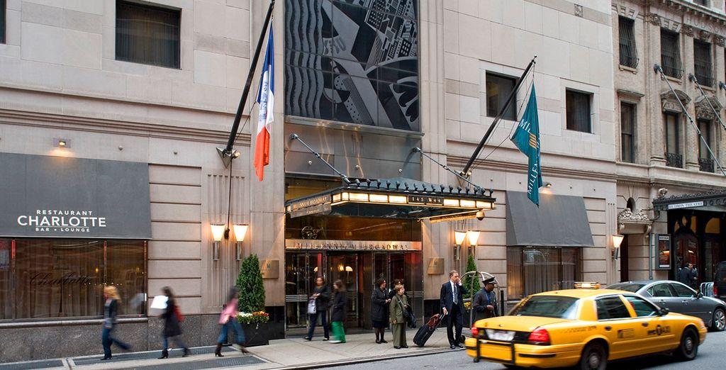 El Hotel Millennium Broadway se encuentra estupendamente situado en Midtown Manhattan